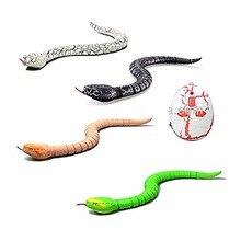 RC Змея с дистанционным управлением и яйцо Гремучая змея животное трюк ужасающие озорства игрушки для детей Забавный подарок
