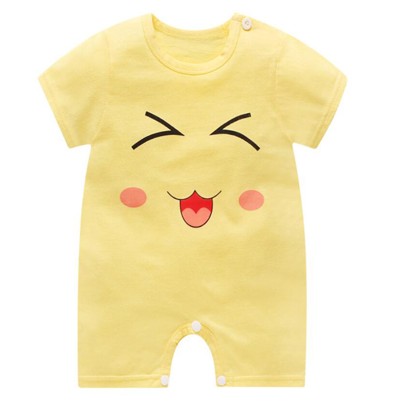 new born baby boy clothes summer baby boy romper short sleeve newborn boy rompers clothi ...