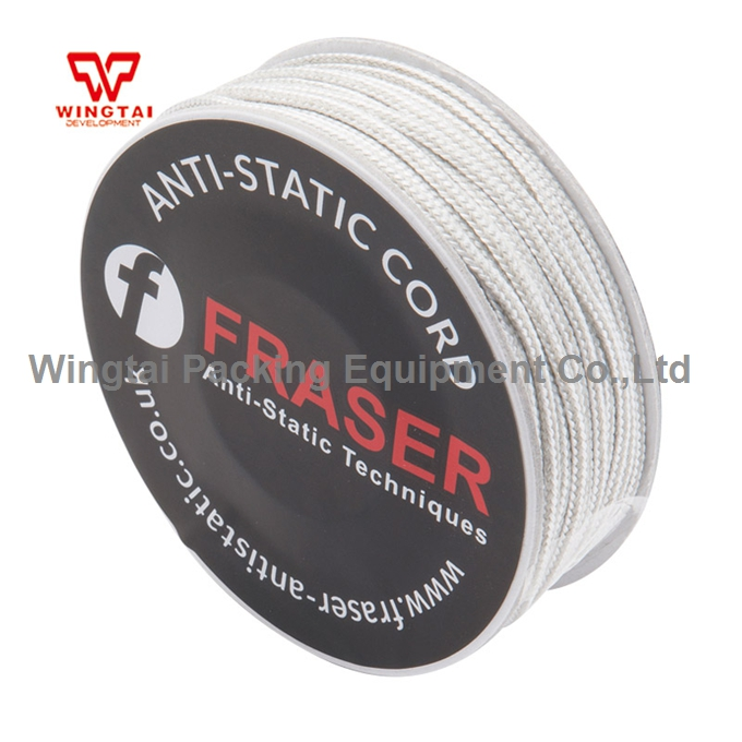 UK FRASER 850-10 Conductive Acrylic Fiber Anti Static Cord Rope 10 Meters original from uk fraser 850 conductive microfibre filament cord anti static string 10m 25m