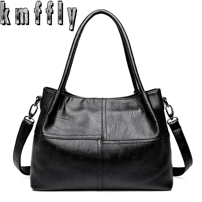 KMFFLY Sheepskin Leather Handbags Women Bags Designer Fashion Shoulder Bag Sac a Main Marque Bolsas Ladies Casual Tote Handbags kmffly luxury handbags women bags designer genuine leather fashion shoulder bag sac a main marque bolsas ladies casual handbags