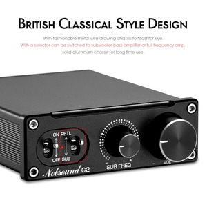 Image 2 - Douk audio Hi Fi G2 Subwoofer / Full Frequency Mini Mono Channel TPA3116 Digital Class D Home Audio Power Amplifier 100W / 300W