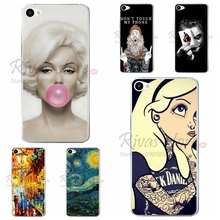 5.0 inch Soft TPU Mobile Cases Cover For Meizu U10 Cool Fashion Printing Silicone Back U 10 Phone Case