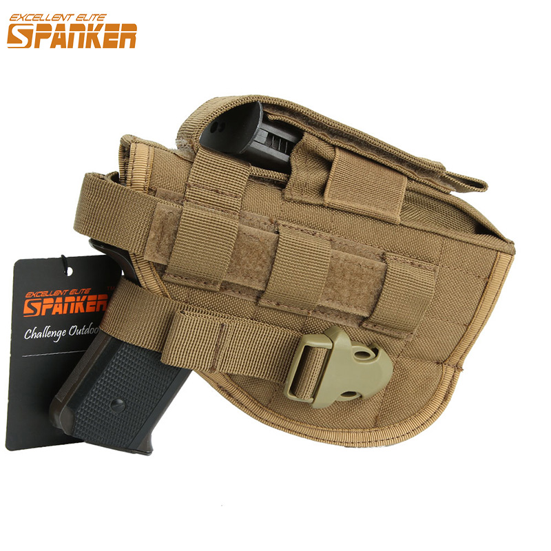 Outdoor Military Universal Molle Buckle Pistol Holster