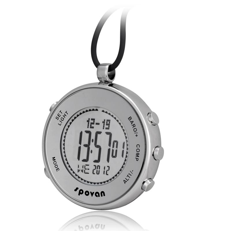 Montre multifonction étanche Spovan altimètre boussole chronomètre baromètre de pêche Sports de plein air montre (DL-O03)