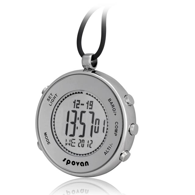 Spovan multifunción resistente al agua altímetro brújula cronómetro pesca barómetro reloj al aire libre reloj deportivo (dl-o03)