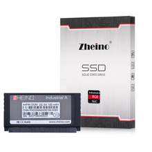 New Zheino SSD IDE PATA DOM 44PIN SLC 8GB Industrial Disk On Module Solid State Drives Vertical+Socket