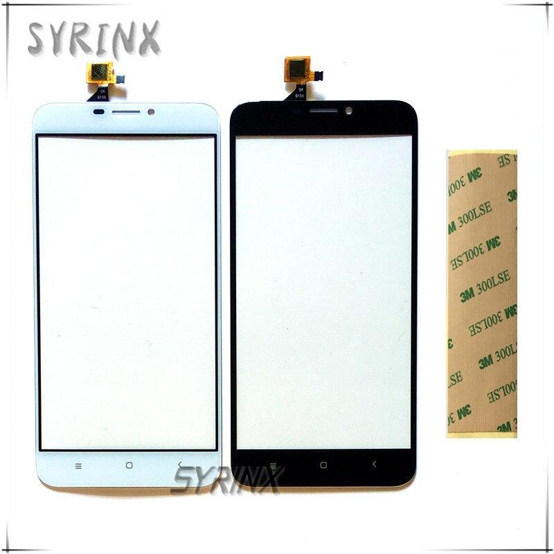 Syrinx Avec 3 M Autocollant Moible Téléphone Tactile Panneau Pour Oukitel U20 Plus Écran Tactile Digitizer Avant Lentille En Verre Écran Tactile capteur