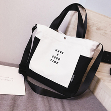 2019 New Hot  Women ECO Grocery Shopping Bags Canvas Letter Casual Recyclable Bag Simple Design Healthy Tote Hand Bag цена в Москве и Питере