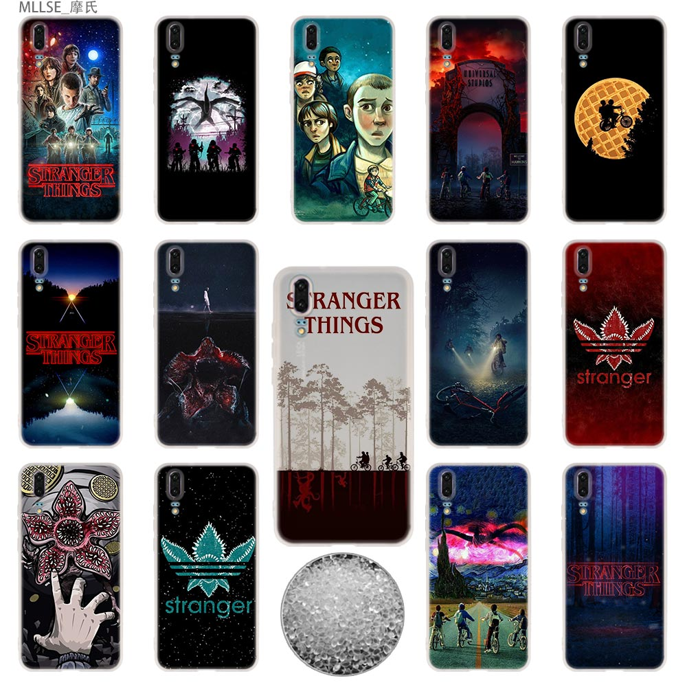 TPU Cover <font><b>Phone</b></font> <font><b>Cases</b></font> Soft For <font><b>Huawei</b></font> P40 P30 <font><b>P20</b></font> pro P10 Plus P9 P8 <font><b>lite</b></font> 2017 samrt Z 2019 <font><b>Stranger</b></font> <font><b>Things</b></font> image