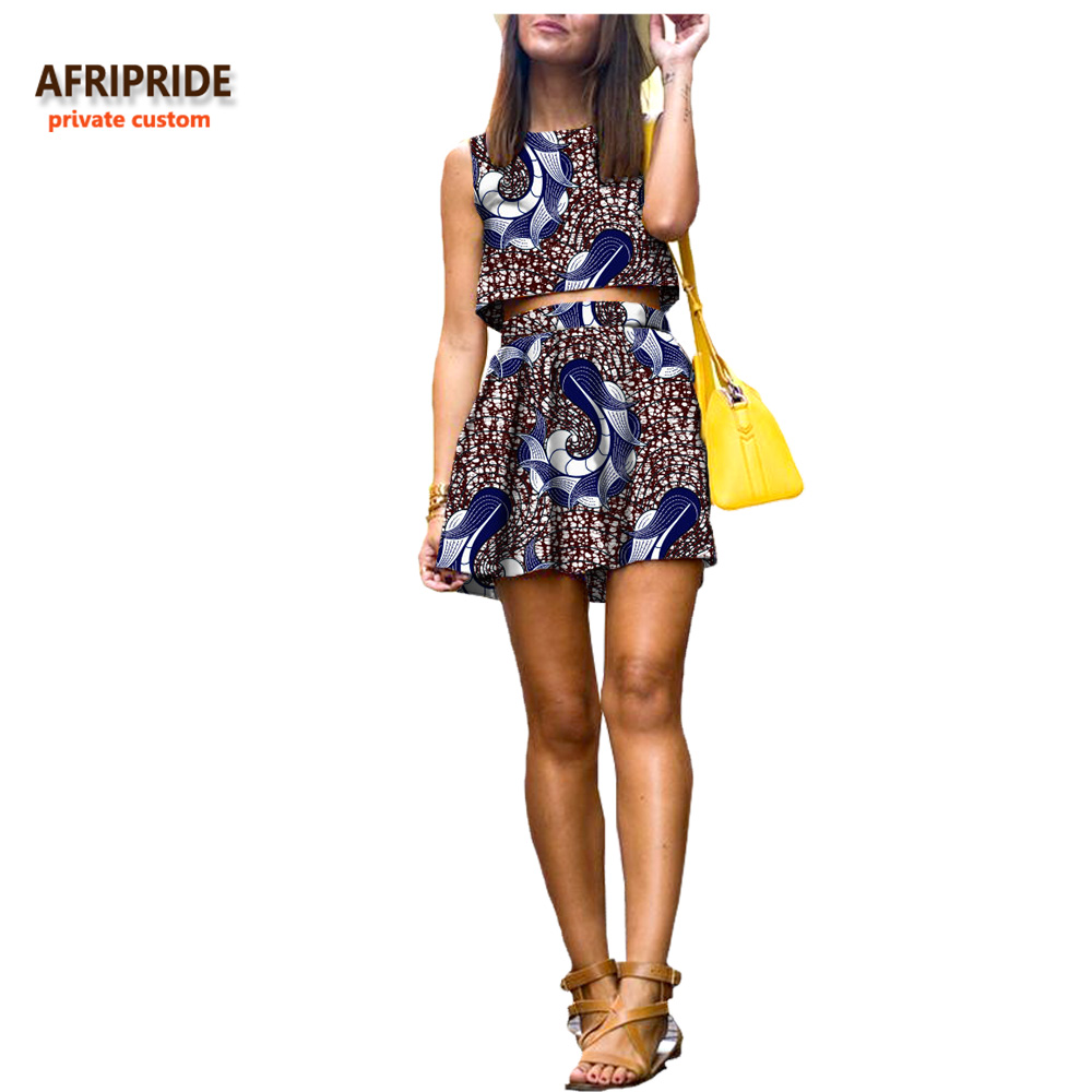 2018 Summer African Women Suit Afripride Private Custom -3469