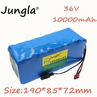 2019 36v 10Ah 10S4P 500W High power&capacity 18650 Rechargeable Battery, Modified Bikes, Electric Vehicle Battery Charger li lon