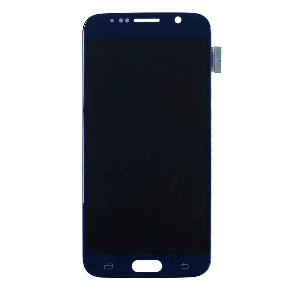 Para Samsung Galaxy S6 G920 G920A G920I G920T G920F G9200 Lcd teléfono móvil de pantalla táctil digitalizador Asamblea reemplazo de parte