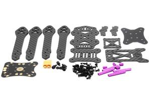 Image 5 - TCMM FPV Frame Kit Martian III X Structure Wheelbase 220mm 4mm Arm Carbon Fiber for RC Multicopter
