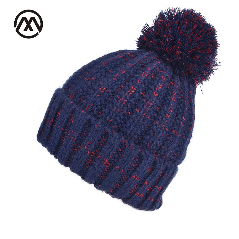 2017 New Style Fur Ball Cap Pom Hat For Women Winter Cap Girls Warm Knit Hats Skullies Beanies Fashion Female Winter Hat 4pcs new for ball uff bes m18mg noc80b s04g