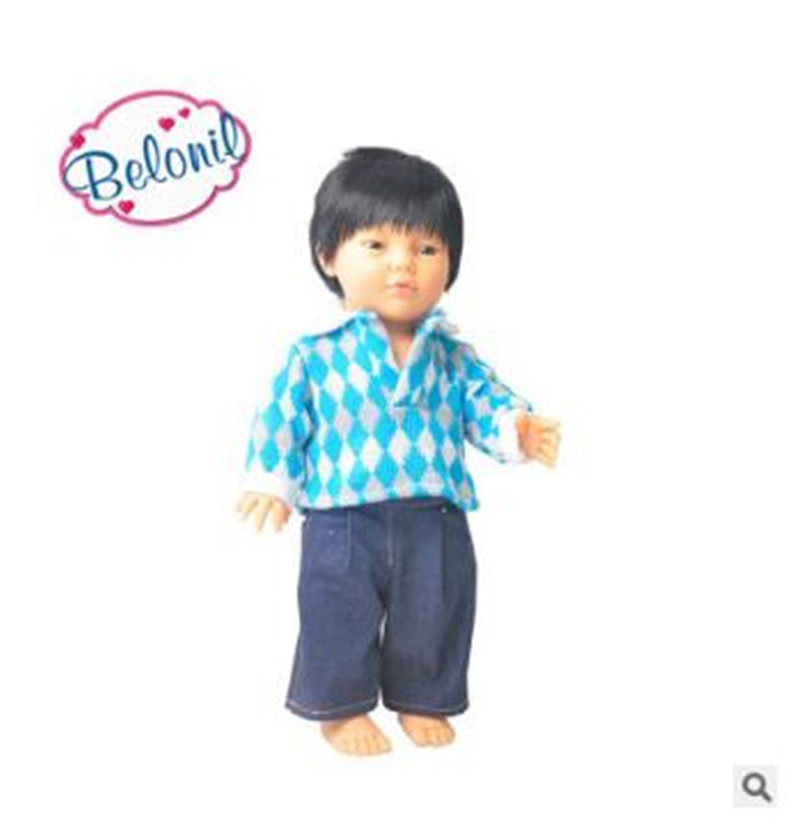 New Design Soft plastic High end simulation Dolls Doll 42cm Lifelike Baby Reborn Newborn Toys for