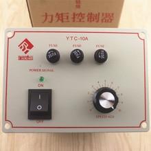 Controlador de motor de torsión trifásico, regulador de velocidad de motor de torsión, YTC 10A, CA, mesa de torsión, 380V