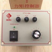 토크 모터 컨트롤러 삼상 토크 모터 속도 레귤레이터 YTC 10A ac 토크 테이블 380 v