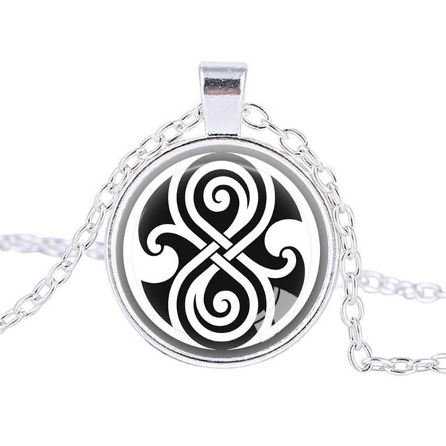 Online Shop Doctor Who Jewelry Time Lord Necklace Gallifreyan