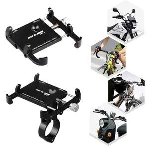 """Image 2 - בעל טלפון אוניברסלי אופניים אופנוע כידון קליפ Stand עבור iPhone סמסונג הר סוגר תמיכה עבור 3.5 6.2 """"טלפונים חכמים"""