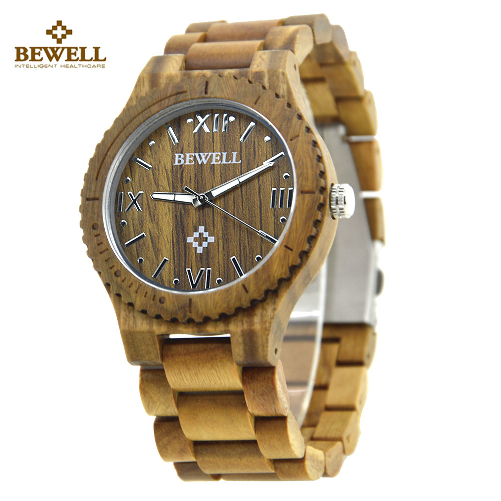 BEWELL Wood Watch Men Vintage Wooden Wristwatch Men's Quartz Watch Top Brand Luxury Watches Men with paper box relogio masculino 50 plates heat exchanger beer wort chiller cooler 304 stainless steel for home brewing beer