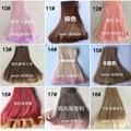 8PCS/LOT Dolls Accessories High-temperature Wire DIY BJD Wig Hair Doll 15CM