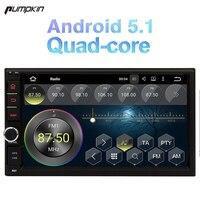 Pumpkin 7 Inch 2 Din Android 5 1 Universal Car DVD Player Quad Core GPS Navigation