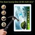 9 h vidrio templado film protector de pantalla para acer iconia one 10 b3-a20 tablet film protector de pantalla de alta calidad para 10.1 pulgadas