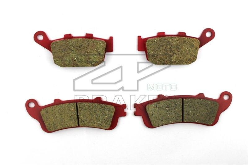 Plaquettes de frein moto pour PEUGEOT 250 SV 2001-2002 F + R nouveau Composite céramique de haute qualité ZPMOTO
