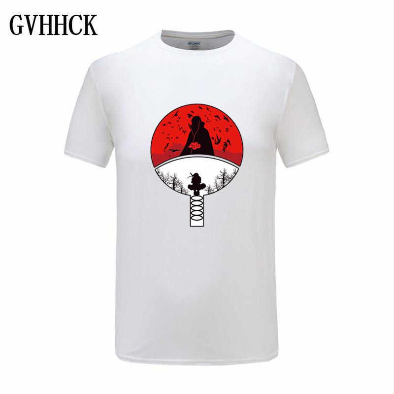 2019 Naruto Akatsuki Pein Witte T-shirt Mannen Katoen Homme Anime Shirt Merk Casual Streetwear Harajuku Mode O-hals Heren T-shirt