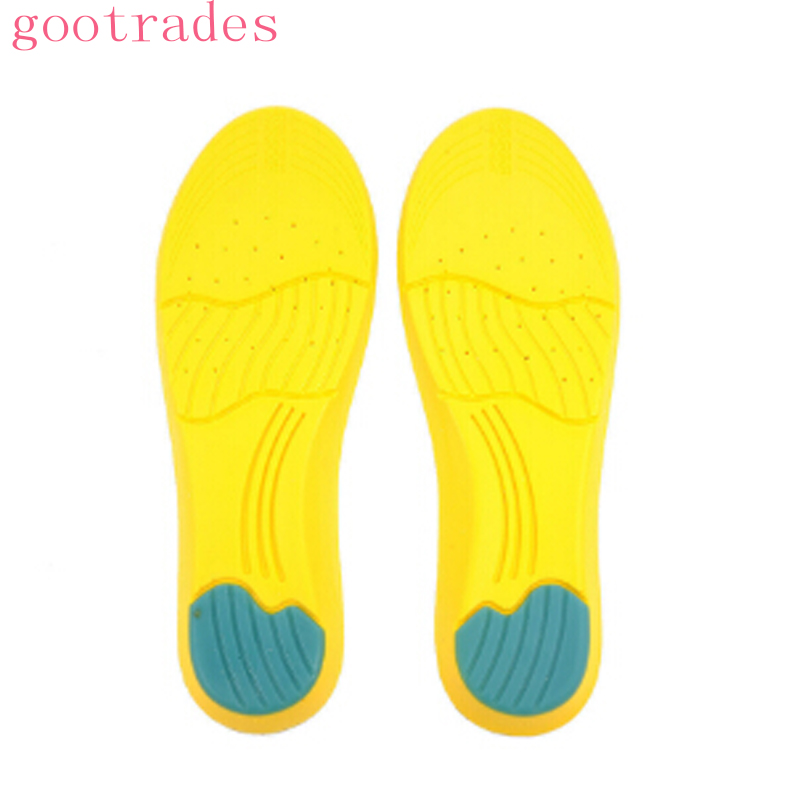 2018 New 1 pair Memory Foam Orthotics Arch Support Shoes Insoles Insert Pads Tool S/L Size Shoe Pads 1 pair super memory foam orthotic arch insert insoles cushion sport support shoe pads