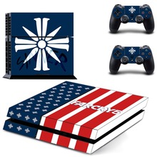 FARCRY5 Vinyl Sticker PS4 Skin Decal Sticker For PlayStation4 Console and 2 controller skins