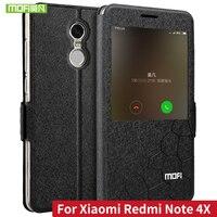 Xiaomi Redmi Note 4X Case Cover Silicon Back Flip Leather Original Mofi Xiaomi Redmi Note 4Xpro