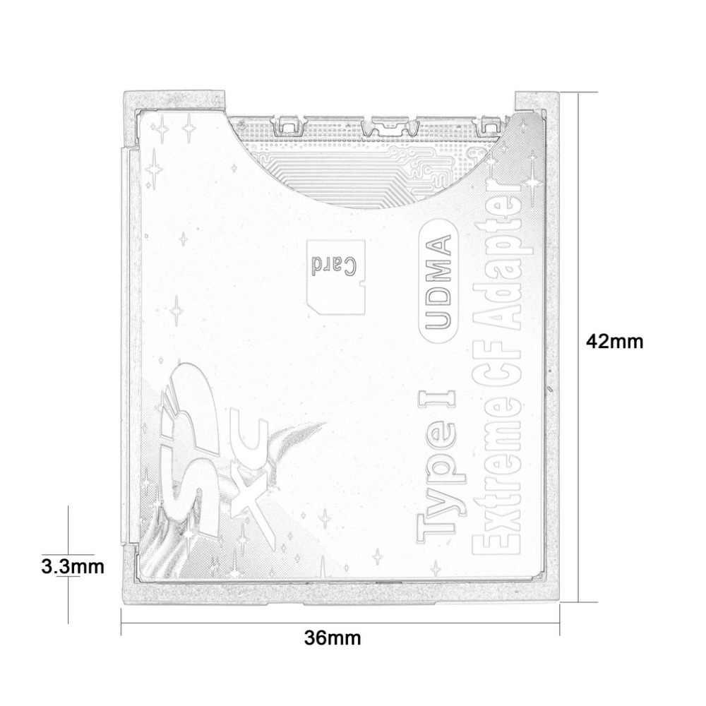 2c59a1e2ae14a ... 100% Высокое качество микро-tf для Compact Flash CF Тип I устройство  чтения карт