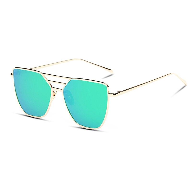 Mode Luxus Frauen Katzenauge Sonnenbrille Stilvolle Damen Drei Deck ...