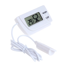 цена на Mini LCD Digital Thermometer Hygrometer Meter Temperature Sensor Humidity Gauge Monitor Tester Detector with Cable