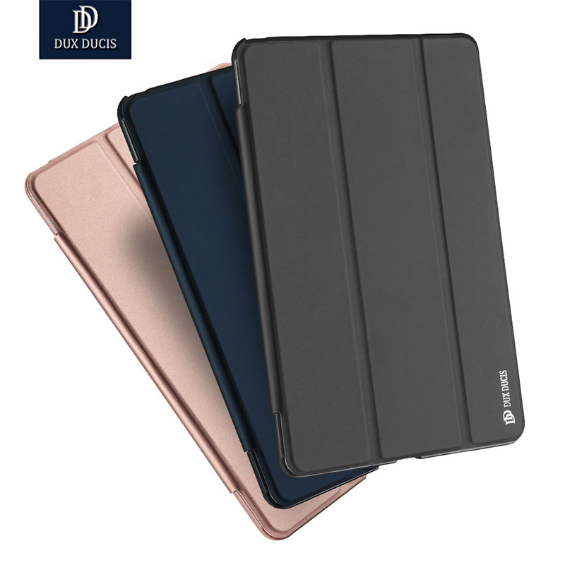 Dux Ducis Case for iPad Pro 10.5 PU Leather Back Slim Smart Cover case for iPad Pro 10.5 inche 2017 new dux