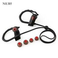NiUB5 Bluetooth Headset Sport With Microphone Handsfree Audifonos Earphone With Soft Earhook Wireless Bluetooth Headset