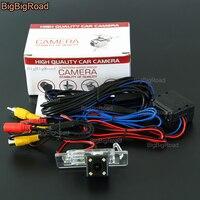BigBigRoad Auto Achteruitrijcamera Backup CCD Camera met power relais/Filter Audi A4L A4 TT A1 A3 A5 A7 Q3 Q5 RS5 s3