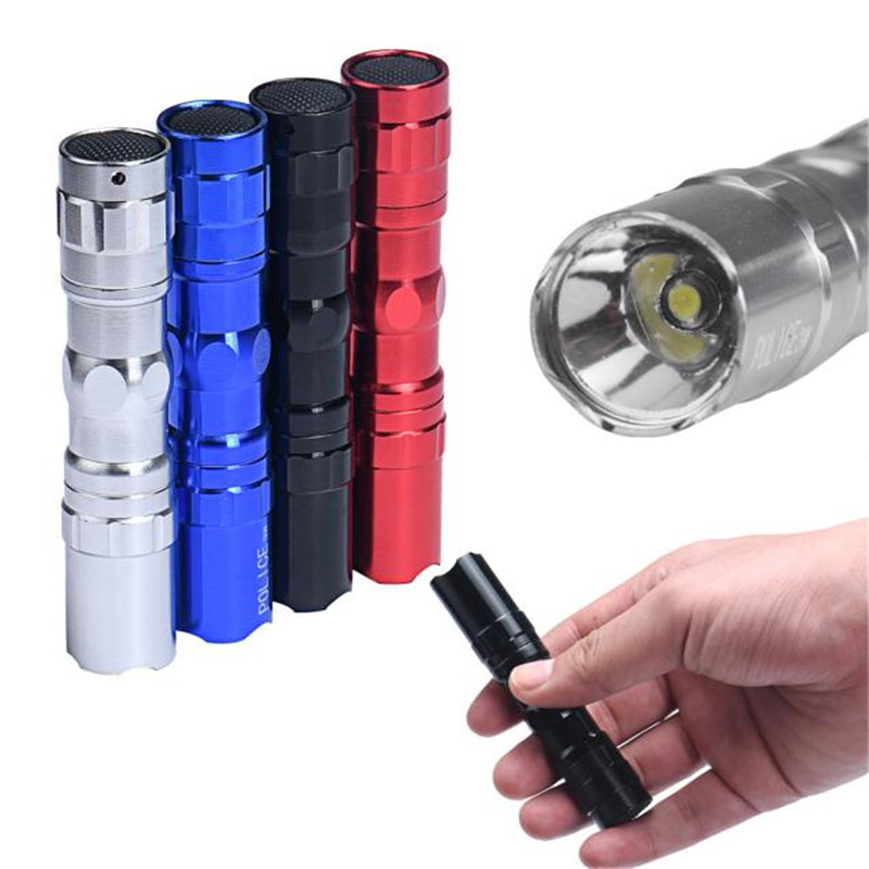 Led Light One Set 4X 3W Super bright LED lamp With Clip Clamp AA Flashlight Focus Torch Light High Quality Wholesales&Retails B2