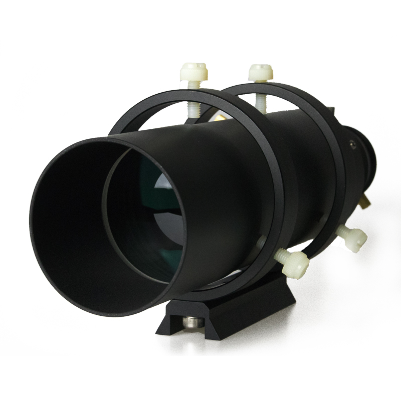 60mm Deluxe Finder Guide Scope Fully Coated Guidescope Finder Eyepiece with 1 25 Helical Focuser