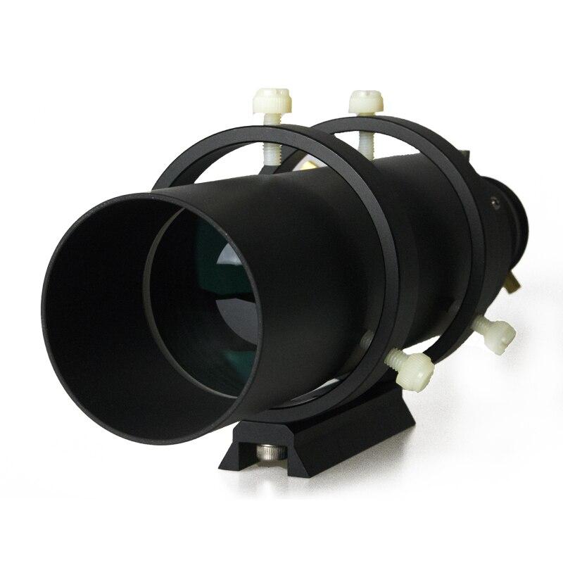 60mm Deluxe Finder Guide Portée Entièrement Enduit Guidescope Finder Oculaire avec 1.25 Hélicoïdale de Mise Au Point