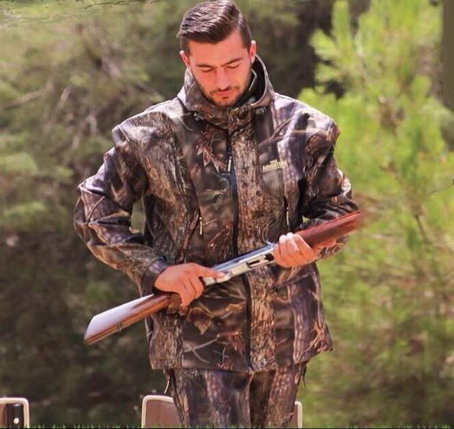 Охотничий костюм Водонепроницаемый ,камуфляж БИОНИЧЕСКИЙ открытый,альпинизм рыбалка комплект Военная куртка + брюки