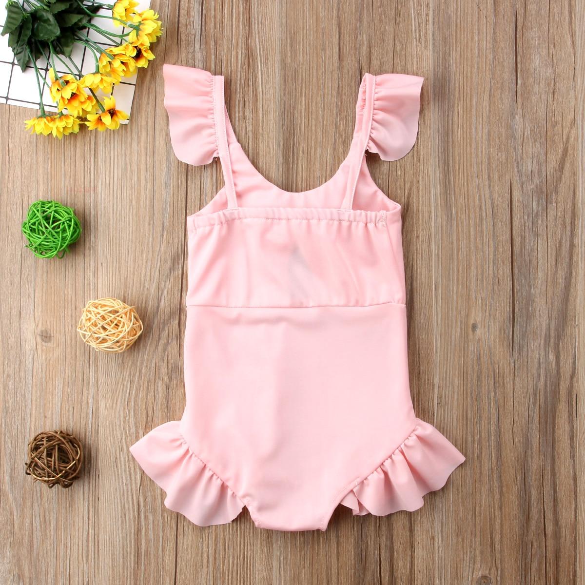 2018 Brand New Toddler Infant Kids Girls Bikini Swimwear Bathing