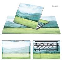 Laptop Sticker Mouse Pad Sets Skin For MSI GT72 2PE GE40 GL72 GE72 2QE GE62 2QD