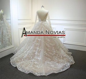 Image 2 - robe de soiree 2020 New Arrival Wedding Dress Champagne Wedding Dress Actual Real Photos