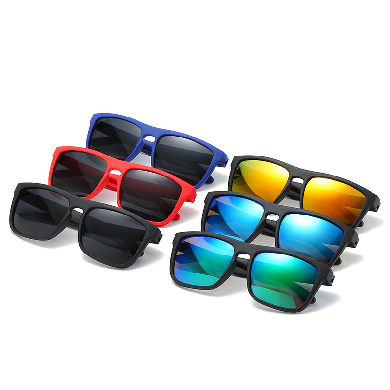 2019 New Children's Silicone Sunglasses Boy's Square Tinted Sunglasses Soft Comfort Baby Wear Glasses  To Report Polarized Baby