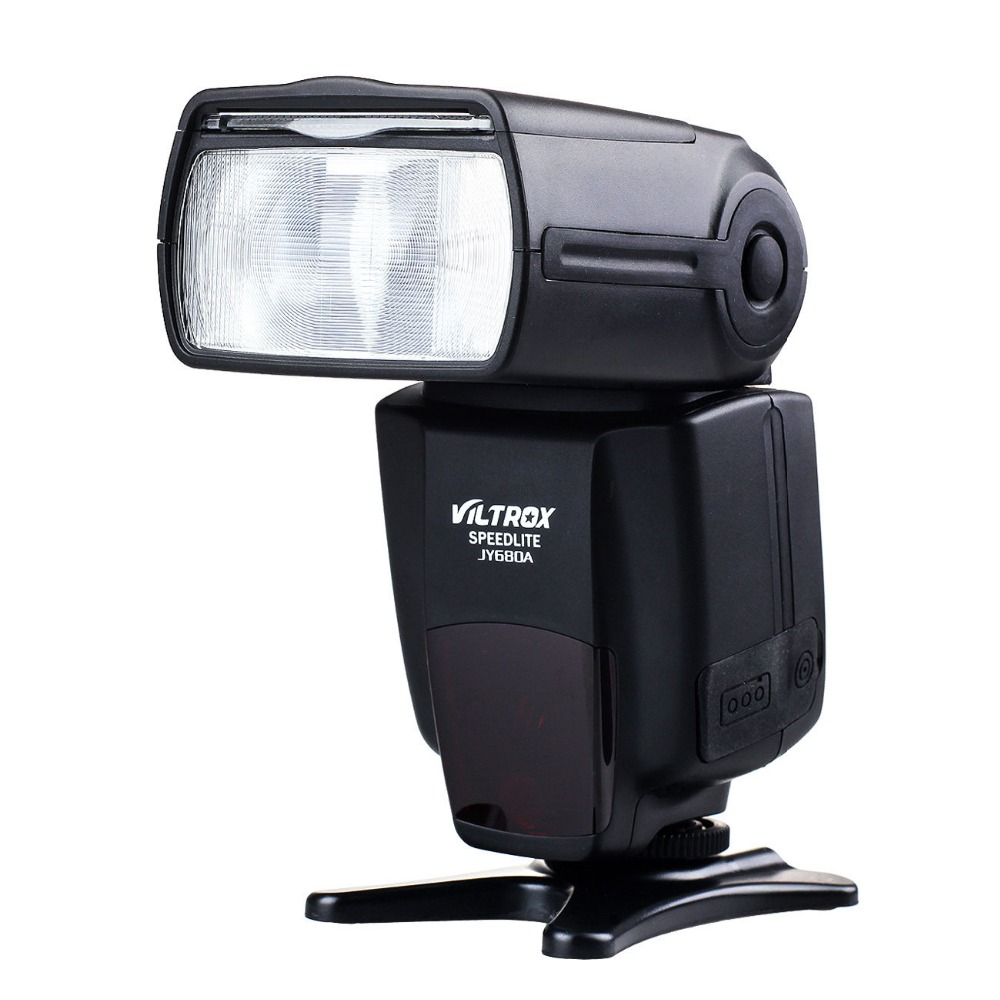 цена на VILTROX JY-680A Universal Camera LCD Flash Speedlite for Nikon D3200 D3300 D5200 D5300 D5500 D7000 D7200 D800 D810 D700 D90 DSLR