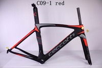 New design 2017 chinese carbon frames with high quality Toray t1100 carbon fiber PF30 bottom bracket Di2 road bike frame carbon