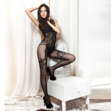 Sexy Hot Mesh Lace Temptation Babydoll Bodystocking Lingerie