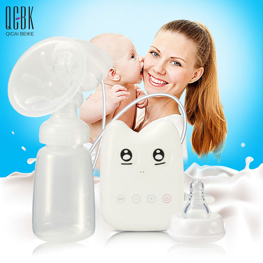 Intelligent USB Electric Breast Pumps Baby BPA Free Breast Feeding Breast Milk Suckers Convenience Automatic Massage